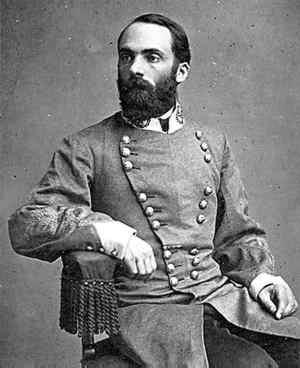 "Confederate Cavalry great Gen. Joseph Wheeler, also known as ""Fightin' Joe"" and the ""War Child."""