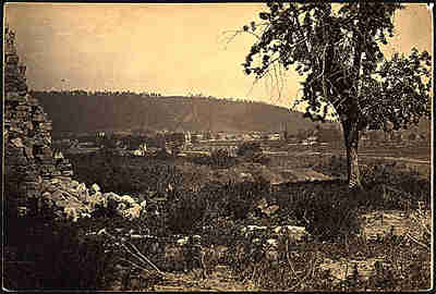Ringgold battlefield, 1865, by George Barnard.