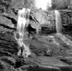 Whitewater Falls near Cashiers, North Carolina