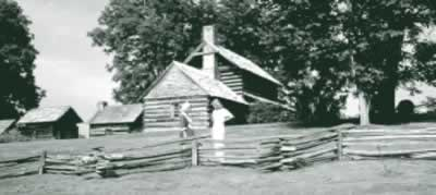 The Vance Birthplace offers a glimpse into the early homestead life in Western North Carolina.